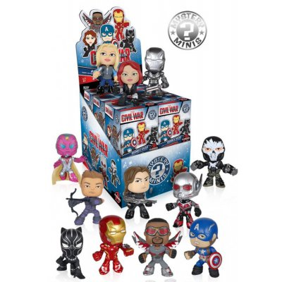 Фигурка Capitan America Civil War - Mystery Minis Exclusive Blind Box (Single Box)