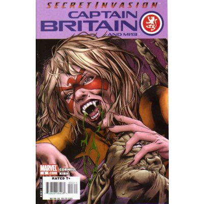 Комикс Captain Britain and MI:13 #3