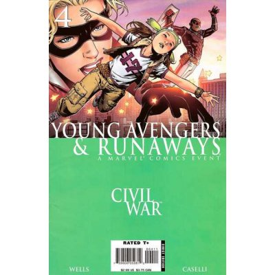 Комикс Civil War: Young Avengers & Runaways #4