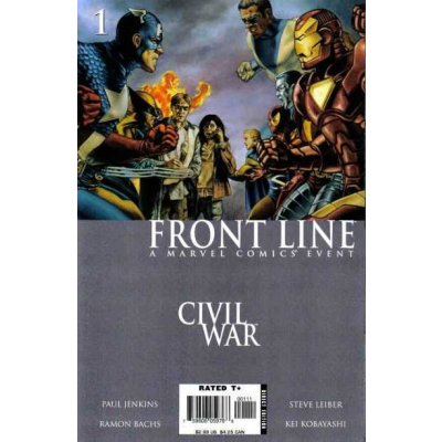 Комикс Civil War: Front Line #1
