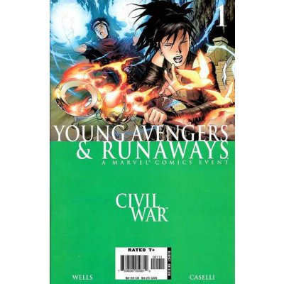 Комикс Civil War: Young Avengers & Runaways #1