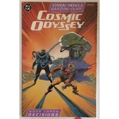 Комикс Cosmic Odyssey. Book Three. Decisions