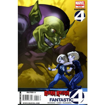 Комикс Dark Reign: Fantastic Four #4