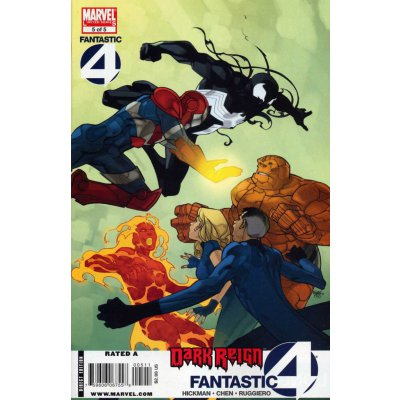 Комикс Dark Reign: Fantastic Four #5