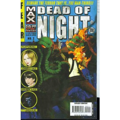 Комикс Dead of Night featuring Man-Thing #2