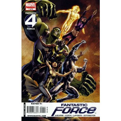 Комикс Fantastic Force #1