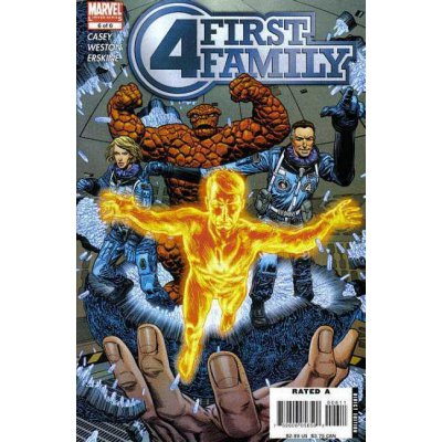 Комикс Fantastic Four: First Family #6