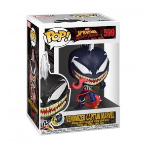 Фигурка Фигурка Funko POP! Bobble: Marvel: Marvel Venom S3: Captain Marvel 46456