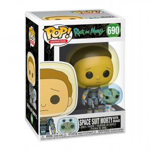 Фигурка Фигурка Funko POP! Vinyl: Rick & Morty: Space Suit Morty w/S 45435