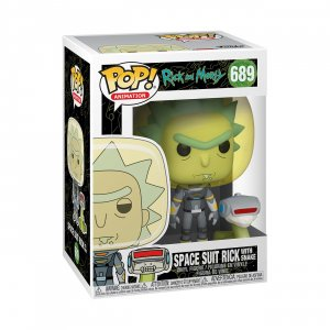 Фигурка Фигурка Funko POP! Vinyl: Rick & Morty: Space Suit Rick w/Sn 45434