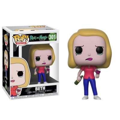 Фигурка Funko POP! Vinyl: Rick and Morty - Beth with Wine Glass