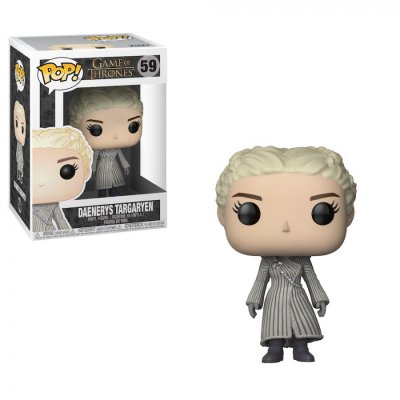 Фигурка Фигурка Funko POP! Vinyl: Game of Thrones - Daenerys Targaryen White Coat