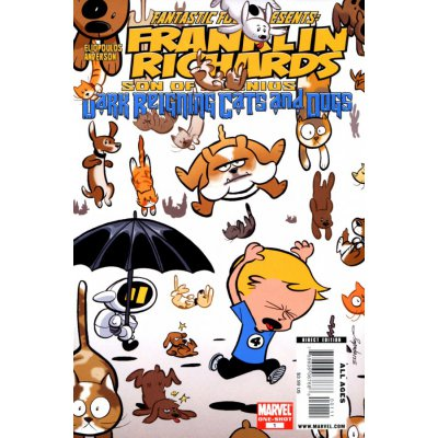 Комикс Franklin Richards: Its Dark Reigning Cats & Dogs #1