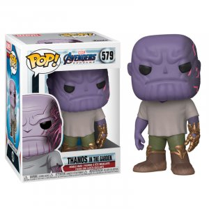 Фигурка Funko POP! Bobble: Marvel: Avengers Endgame: Casual Thanos w/Gauntlet 45141