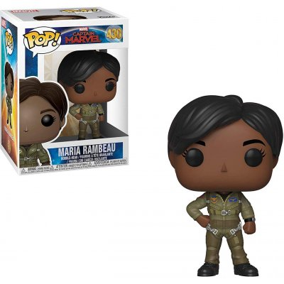 Фигурка Funko POP! Bobble Marvel: Captain Marvel: Maria Rambeau 37585
