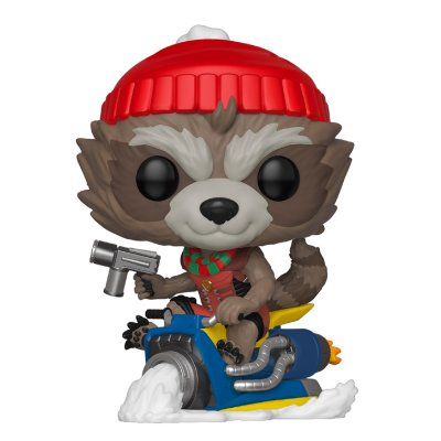 Фигурка Funko POP! Bobble: Marvel: Holiday: Rocket 43334