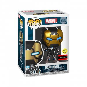 Фигурка Железный Человек Funko POP! Bobble: Marvel: Marvel 80th: Iron Man Model 39 (GW) (Exc) 43965