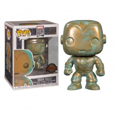 Фигурка Funko POP! Bobble: Marvel: Marvel 80th: Iron Man (PT)(Exc) 42223