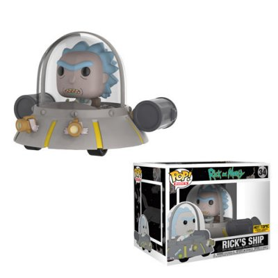Фигурка Funko POP! Rides: Rick & Morty: Space Cruiser (Эксклюзив)