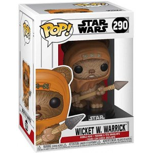 Фигурка Funko POP: Star Wars – Wicket W. Warrick Bobble-Head
