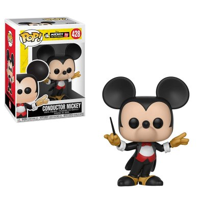 Фигурка Funko POP! Vinyl: Disney: Mickey's 90th: Conductor Mickey 32186