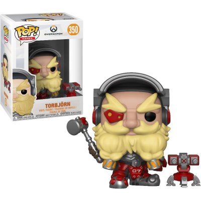 Фигурка Funko POP! Vinyl: Games: Overwatch S4: Torbjörn 32278