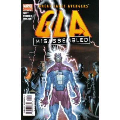 Комикс Great Lakes Avengers GLA #1