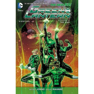 Комикс Green Lantern Vol. 3: The End