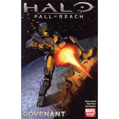 Комикс Halo Fall Of Reach Covenant #2