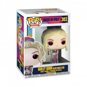 Фигурка Харли Квинн Funko POP! Vinyl: DC: Birds of Prey: Harley Quinn (Black Mask Club) 44369