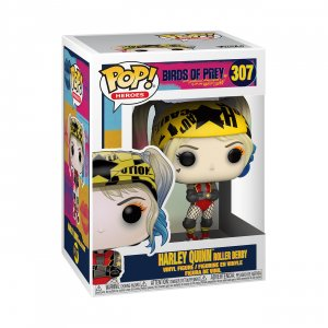 Фигурка Харли Квинн Funko POP! Vinyl: DC: Birds of Prey: Harley Quinn (Roller Derby) 44376