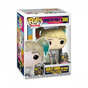 Фигурка Харли Квинн Funko POP! Vinyl: DC: Birds of Prey: Harley Quinn w/Beaver 44378