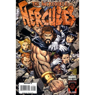 Комикс Incredible Hercules #114
