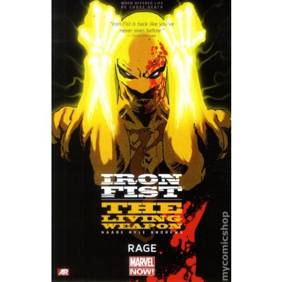 Комикс Iron Fist: The Living Weapon