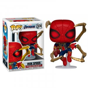 Фигурка Железный Паук Funko POP! Bobble: Marvel: Avengers Endgame: Iron Spider w/NanoGauntlet 45138