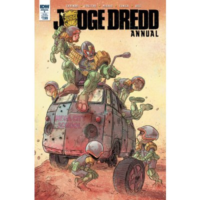 Комикс Judge Dredd Annual #1