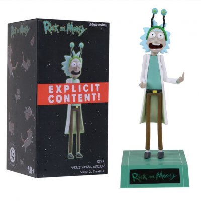 "Фигурка Loot Create Original. Rick and Morty Figure ""Peace Among Worlds"" (15 см.)"