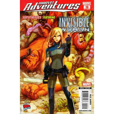 Комикс Marvel Adventures Avengers Invisible Woman (19)