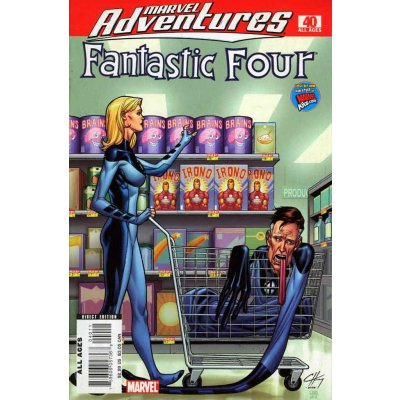 Комикс Marvel Adventures Fantastic Four