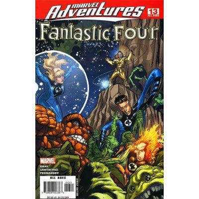 Комикс Marvel Adventures: Fantastic Four #13