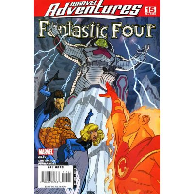 Комикс Marvel Adventures: Fantastic Four #15