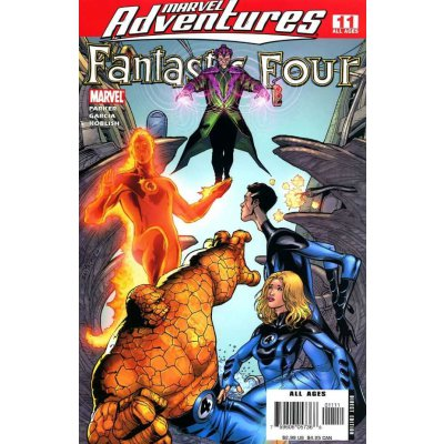 Комикс Marvel Adventures: Fantastic Four #11