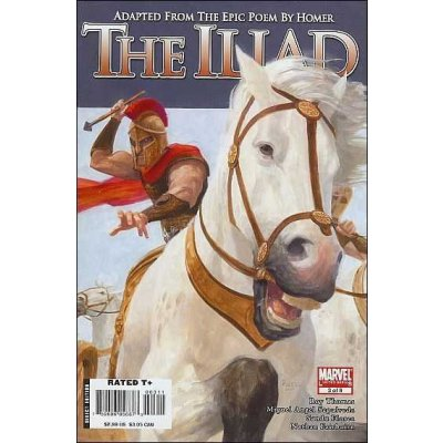 Комикс Marvel Illustrated: The Iliad #3