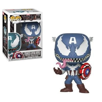 Фигурка Funko POP! Marvel: Venom: Venom/Captain America