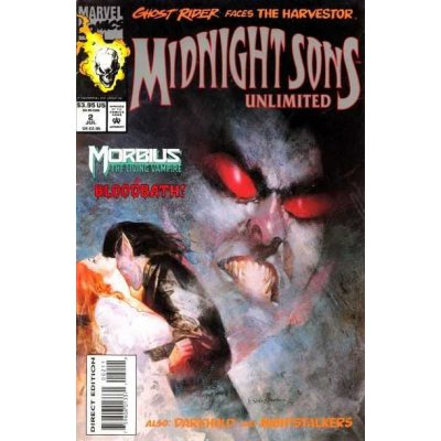 Комикс Midnight Sons Unlimited #2