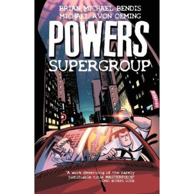 Комикс Powers. Volume 4: Supergroup