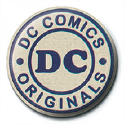 Значок Pyramid: DC: DC Originals (Logo) PB2532