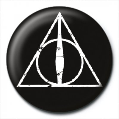 Значок Pyramid: Harry Potter (Deathly Hallows Logo) PB2364