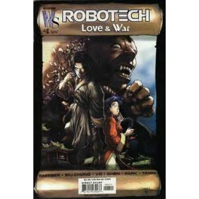 Комикс Robotech: Love & War #4b