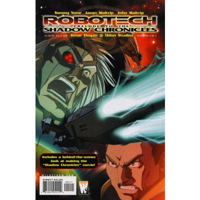 Комикс Robotech: Prelude to the Shadow Chronicles #2